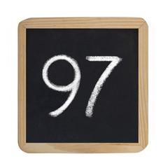 the number 97