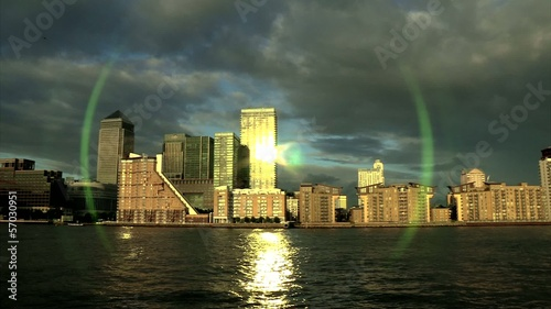 Canary Wharf 8 - London - Sunset