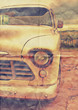 faded old truck