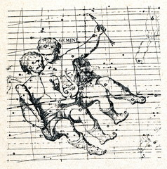 Castor and Pollux (constellation Gemini)