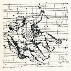 Castor and Pollux (constellation Gemini)