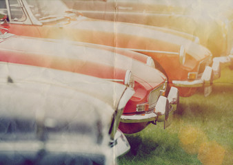 faded classic cars