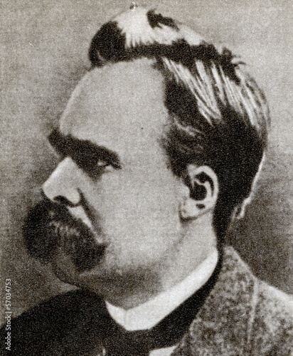 Friedrich Nietzsche, German philosopher