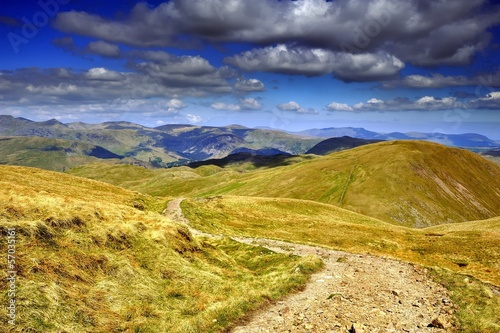 Path down the Fells
