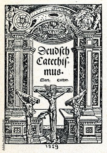 Luther's Large Catechism (first edition, 1529)