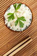 riso cinese in bianco