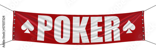 Poker Banner (clipping path included)