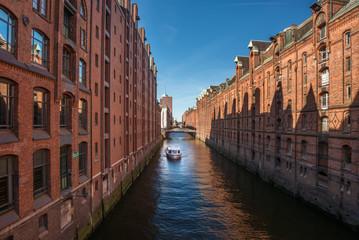Hamburg tourism old trading Building