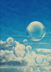 bubbles paper texture