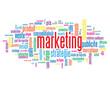 """Nuage de Tags """"MARKETING"""" (stratégie publicité communication)"""