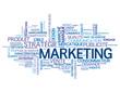 """Nuage de Tags """"MARKETING"""" (publicité communication stratégie)"""