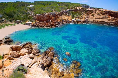 Ibiza Punta de Sa Galera beach in San Antonio