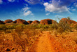 Wonderful colors and landscape of Australian Outback