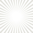 Simple white and gray sunburst style ray background