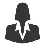 Fototapety Businesswoman icon