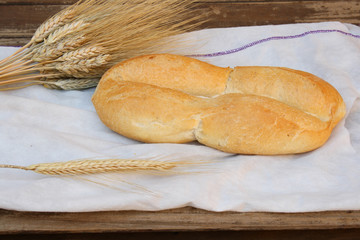 "Chilean bread called ""marraqueta"""
