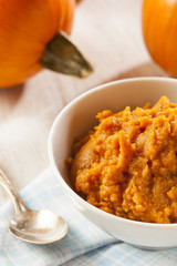 Organic Orange Pumpkin Puree