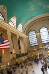 inside grand central station New York city