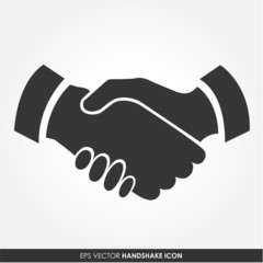 Handshake - vector icon