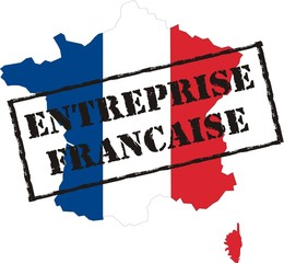 carte de france entreprise française
