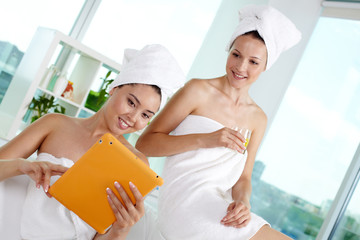 Networking in spa salon