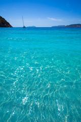 Ibiza cala San vicente beach san Juan at Balearic Islands