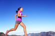 Running sports fitness runner woman jogging