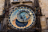Astronomical clock in the Old Town of Prague.