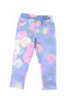 Kids pants with floral prints.