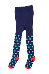 Child's striped tights.