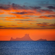 Ibiza sunset Es Vedra view from Formentera
