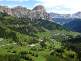 valley in the Dolomites