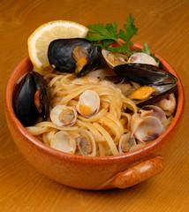 pasta con frutti di mare