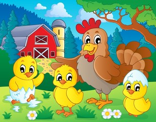 Farm animals theme image 7