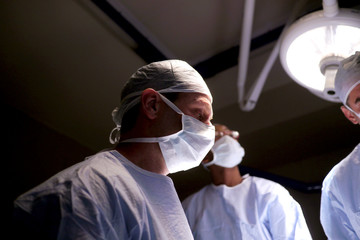 doctor in operating theater