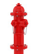 render of a red fire hydrant
