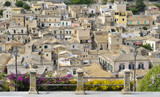 View of Modica - Ragusa - Sicily -