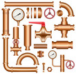 Copper pipeline elements - 57057373
