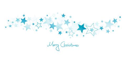 Christmas Stars Blue