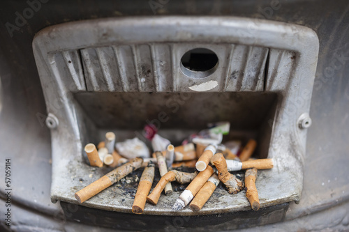 Public ashtray