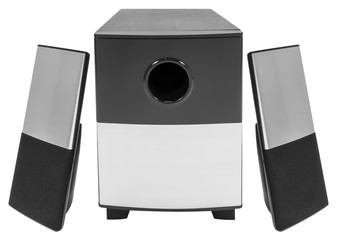Speaker system with subwoofer