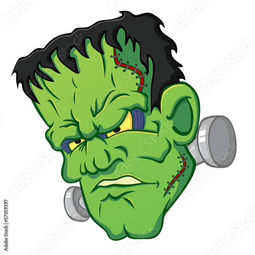 Icon of the Frankensteins head