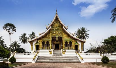 Royal Palace(Haw Kham) & Haw Pha Bang,Luang Prabang,Laos.UNESCO