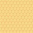 red hexagons background