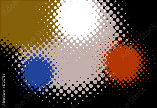 Spotted vector background