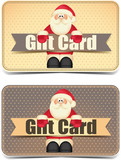 Gift card New Year and Christmas