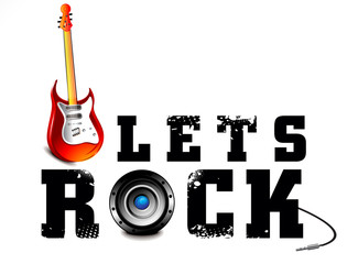 Lests Rock Music Background