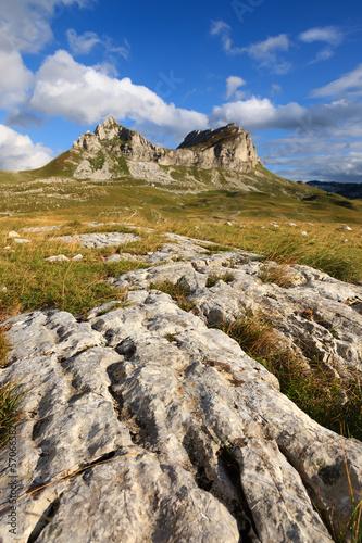 Rocky landscape of the National Park Durmotor