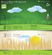 Modern nature Design Layout