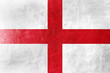 England Flag painted on leather texture - 57069582